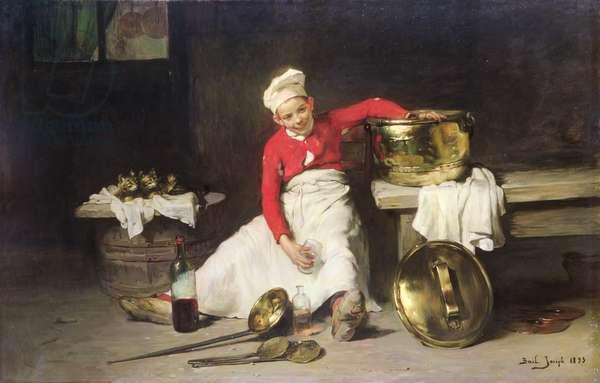 Kitchen-Boy, 1893 (oil on canvas)