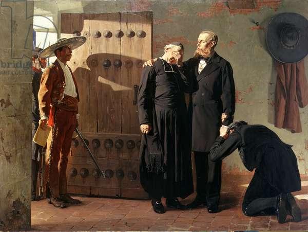 The Last Moments of Maximilian, 1882 (oil on canvas)