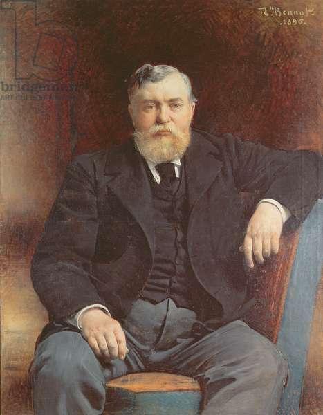Portrait of Prince Vyacheslav Tenishev, 1896