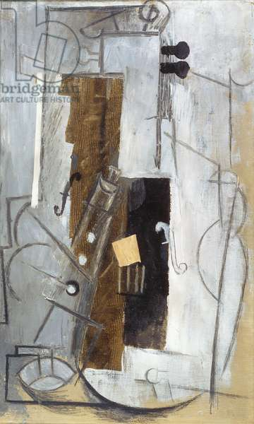 Tenora and Violin, 1913 (oil on canvas)