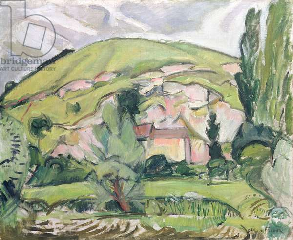 Hill, 1908 (oil on canvas)