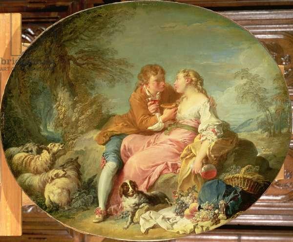 Pastoral Scene, 1740s