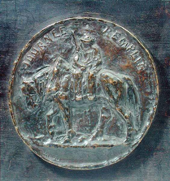 The Day is Over, late 1890s (bronze)