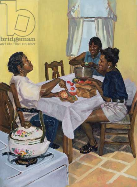 Well Seasoned Banter, 1998 (oil on canvas)