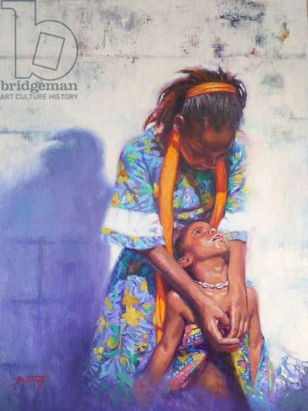 Emancipation, 2014, (oil on linen)
