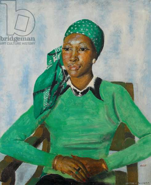 Milly, 1974 (oil on canvas)