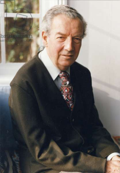 Benjamin Britten in Aldeburgh, 1976