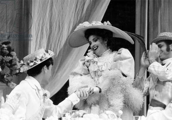 Benjamin Britten 's opera 'Albert Herring' Aldeburgh 1986