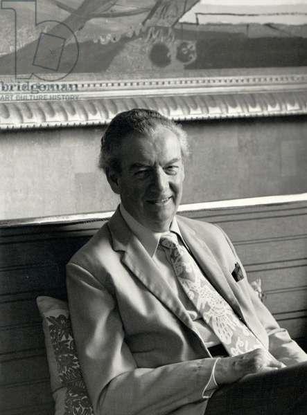 Benjamin Britten at Aldeburgh, 1976