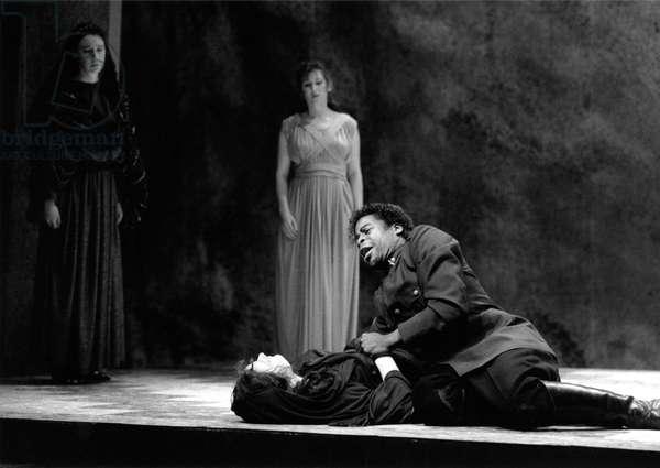 Benjamin Britten 's opera 'The Rape of Lucretia' Aldeburgh 1987