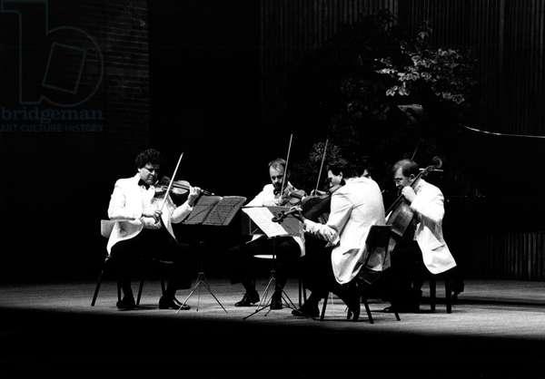 Vermeer String Quartet performing