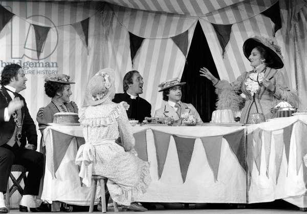 Benjamin Britten 's opera 'Albert Herring' Aldeburgh 1974