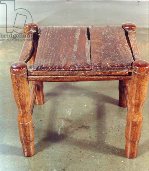 Emily Bronte's stool (wood)