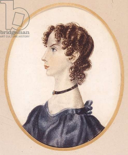 Anne Bronte, 1834 (w/c on paper)