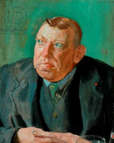 The Potman, 1924 (oil on canvas)