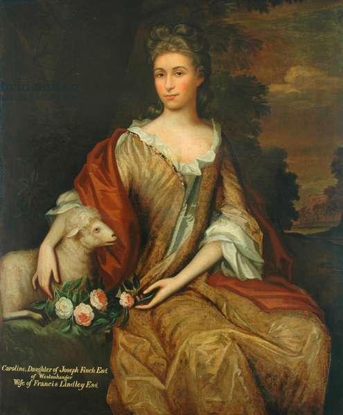 Mrs Lindley, née Caroline Finch (oil on canvas)