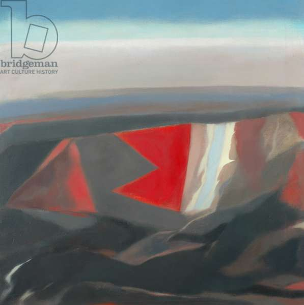 Petra (recto), 1969 (oil on canvas)