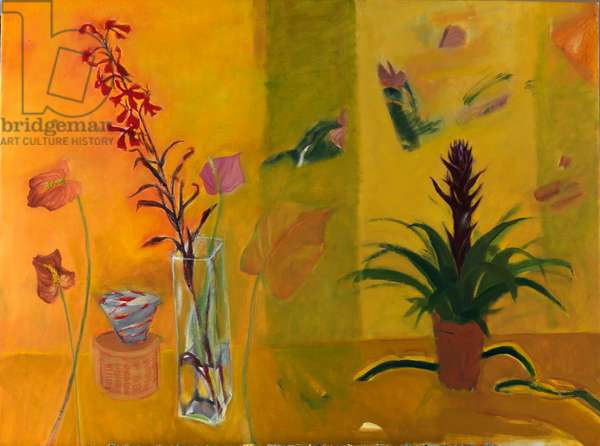 Arthurian and Other Plants, 2010 (oil on canvas)