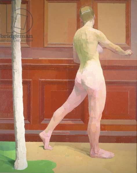 Girl Tree, 1989-91 (oil on canvas)