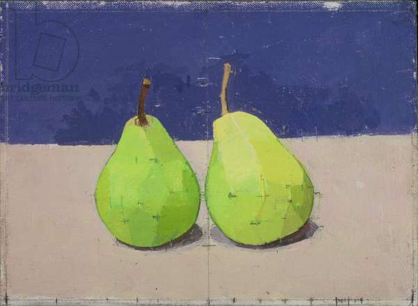 Two Pears, 1990 (oil on canvas)
