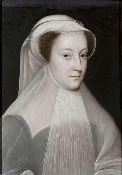 Mary Stuart, 1560 (oil on panel)
