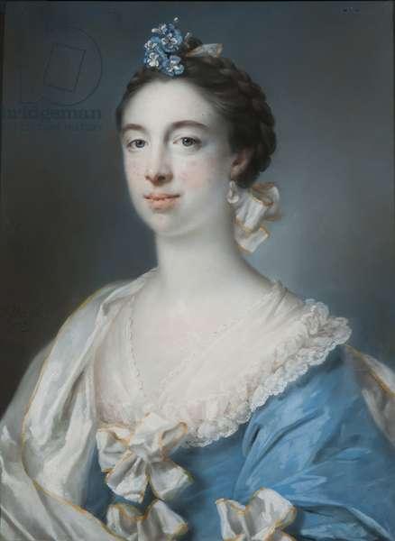 Portrait of Mary Blackbourne, 1759 (pastel on paper)