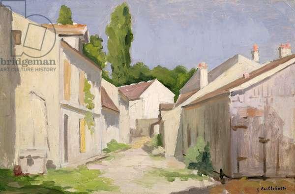 Le Clos des Abbesses, Yerres, Essonne, before 1879 (oil on canvas)