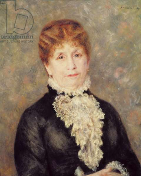 Madame Eugene Fould, 1880 (oil on canvas)