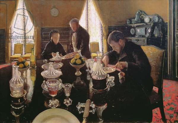 Luncheon, 1876 (oil on canvas)