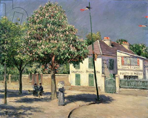 Walk at Argenteuil, 1883 (oil on canvas)