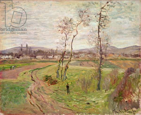 The Plain at Gennevilliers, 1877 (oil on canvas)