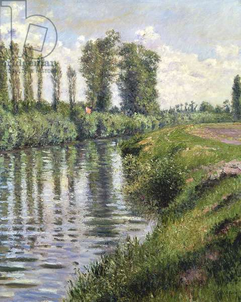 Small Branch of the Seine at Argenteuil (oil on canvas)