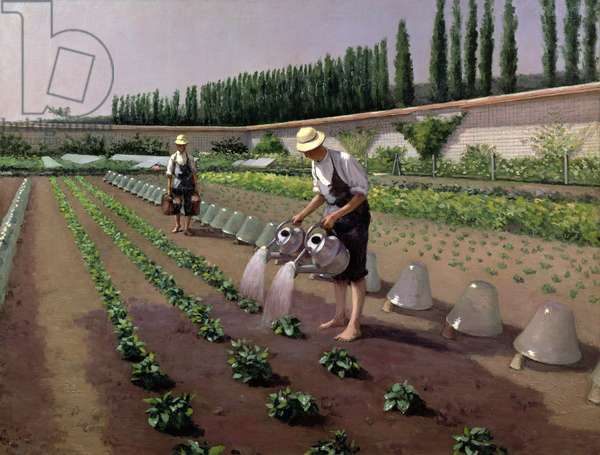 The Gardeners (oil on canvas)