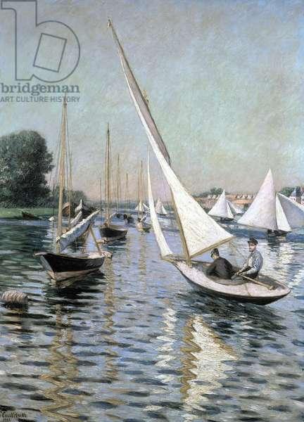 Regatta at Argenteuil, 1893 (oil on canvas)