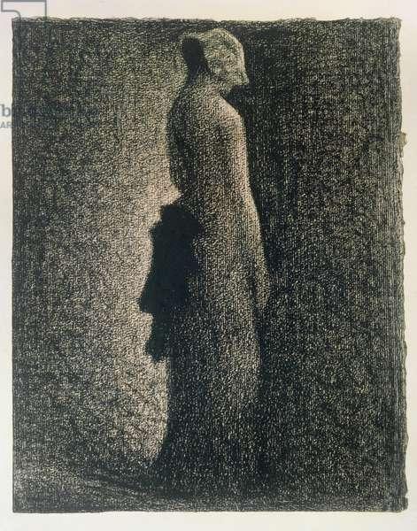 The Black Bow, 1882-3 (conte crayon)