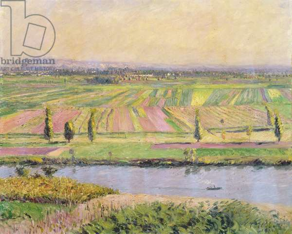 The Plain of Gennevilliers from the Hills of Argenteuil, 1888 (oil on canvas)