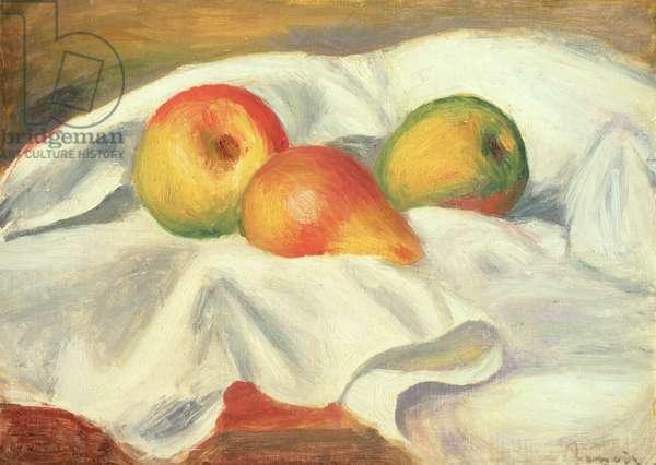 Three Pears, c.1885 (oil on canvas)