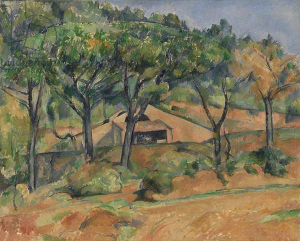 House in Provence, c.1890 (oil on canvas)