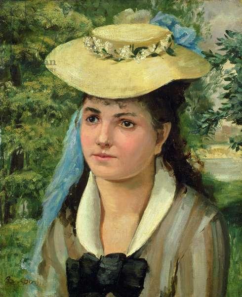 Lise (oil on canvas)