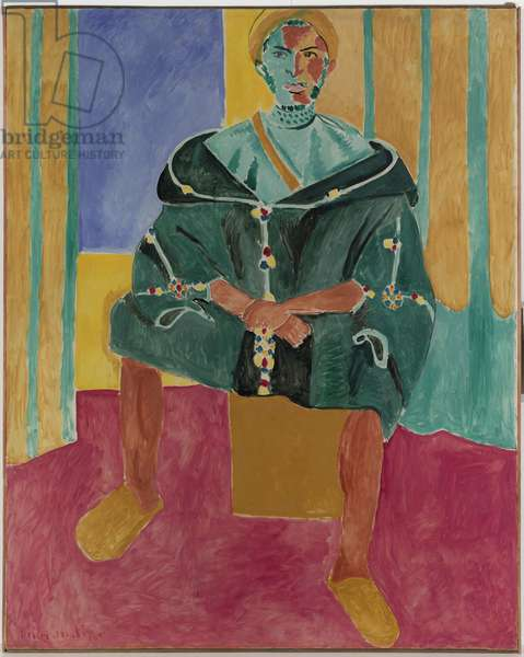Seated Riffian (Le Rifain Assis) 1912 or 1913 (oil on canvas)