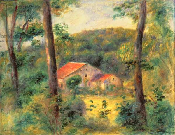 Landscape near Briey, 1899 (oil on canvas)