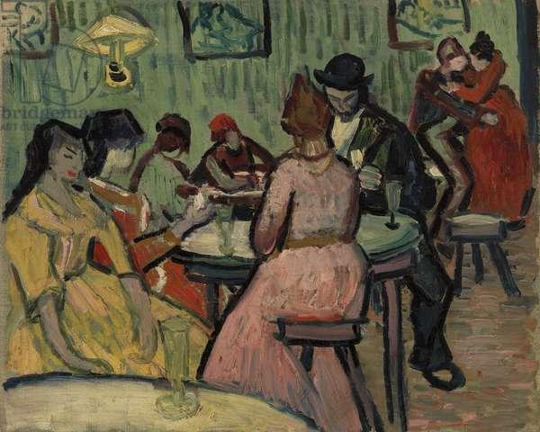 Lupanar: Brothel Scene (oil on canvas)