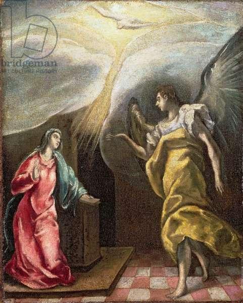 Annunciation (oil on canvas)