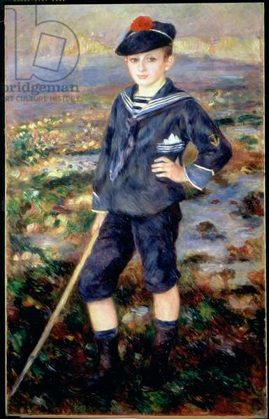 Sailor Boy (Portrait of Robert Nunes), 1883 (oil on canvas)