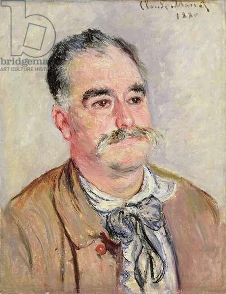 Monsieur Cognerat, 1880 (oil on canvas)