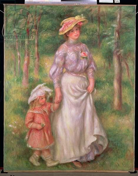 The Promenade, c.1906 (oil on canvas)