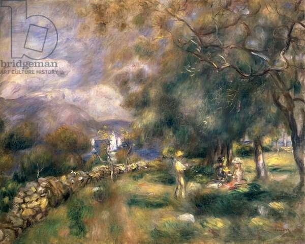 Peninsula of Saint-Jean, 1888 (oil on canvas)