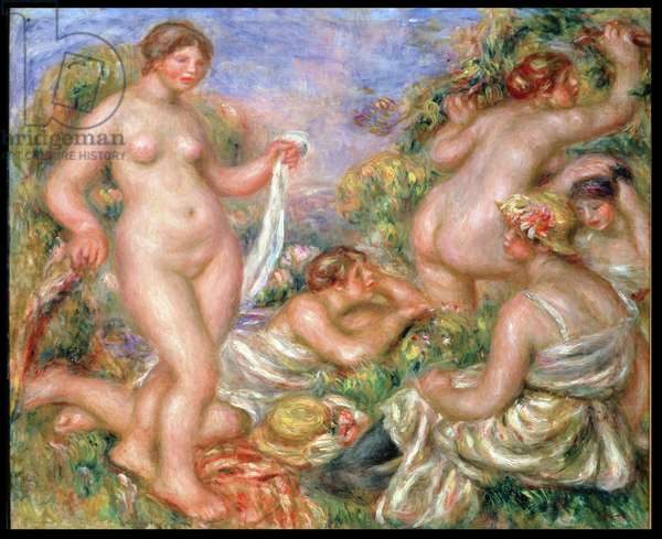 Bathers, c.1918 (oil on canvas)