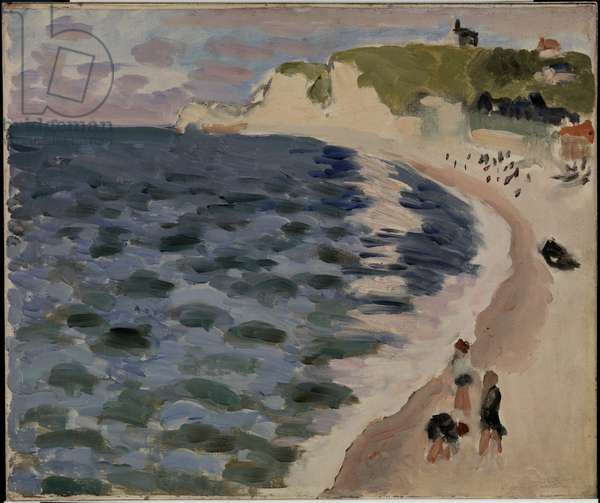 Etretat, The Sea, 1921 (oil on canvas)