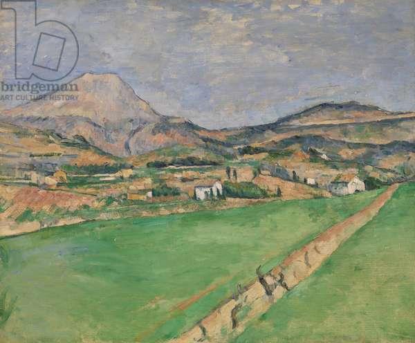 Towards Monte Sainte-Victoire, 1878-79 (oil on canvas)